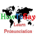 Howtosay logo icon