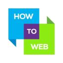 How To Web logo icon