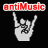 Antimusic.com logo