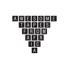 Awesometapes.com logo
