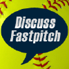 Discussfastpitch.com logo