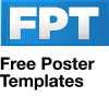 Freepostertemplates.co.uk logo