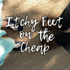 Itchyfeetonthecheap.com logo