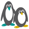 Lazypenguins.com logo