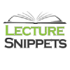 Lecturesnippets.com logo