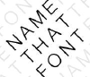 Namethatfont.net logo