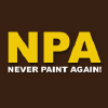 Neverpaintagain.co.uk logo
