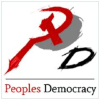 Peoplesdemocracy.in logo
