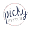 Pickystitch.com logo