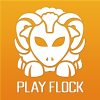 Playflock.com logo