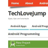 Techlovejump.com logo