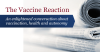 Thevaccinereaction.org logo