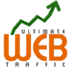 Ultimatewebtraffic.com logo