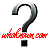 Whoknown.com logo