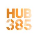 Hub385 logo icon
