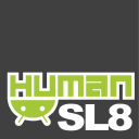 Human Slate / Humanoid Computers / Touch the Future, Today logo