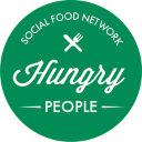 HungryPeople | Social Food Network logo