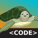 Hungry Turtle Code logo icon