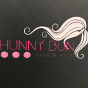 Hunny Bun Virgin Hair logo icon