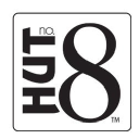 Hut no. 8 Tampa/USF logo