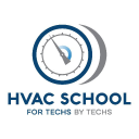 Hvac School logo icon