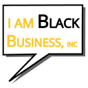 I Am Black Business logo icon