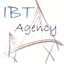 "IBT Agency ""International Bridge for Trading Agency"" logo"