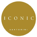 Iconic Santorini logo icon