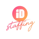 I D Staffing logo icon