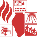Illinois Fire Safety Alliance logo