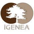I Genea logo icon