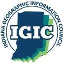 Indiana Geographic Information Council logo icon