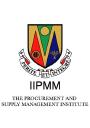 IIPMM (Irish Institute of Purchasing and Materials Management) logo