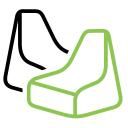 Ikwilzitzakken logo icon