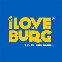 I Love The Burg logo icon
