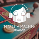 I'm not a machine music Logo