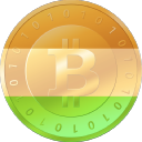 India Bitcoin logo icon