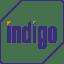 Indigo logo icon