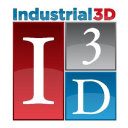 Industrial3 D logo icon