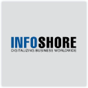 Infoshore logo icon