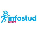 Infostud 3 D logo icon
