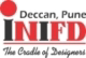 INIFD Pune Deccan logo