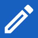 Inschrijven logo icon