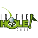 In The Hole! Golf logo icon