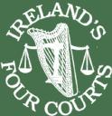 Ireland's Four Courts logo icon