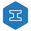 Iron logo icon
