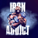Iron Addicts Brand logo icon