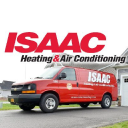 ISAAC Heating and Air Conditioning logo