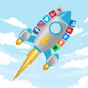 I Social Fame logo icon