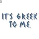 It's Greek To Me logo icon